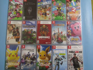 Nintendo Switch Games (Starting from $14.99)