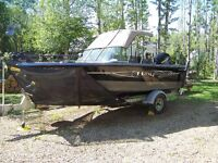 1800 Lund Tyee reduced because my new boat has arrived