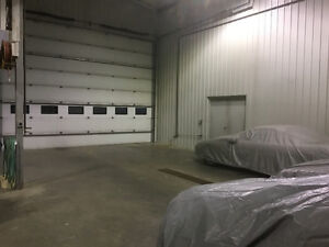 Heated winter storage for cars, boats, or motorcycles