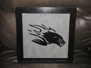 Seadogs Crest By Well Known Artist