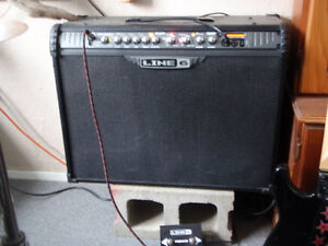 line 6 spyder 3 150w sterio amp with effects and footswitch