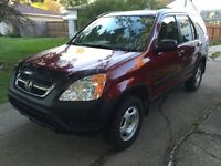 2002 Honda CR-V SUV, Crossover,2 way auto starter,Fresh safety
