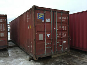 30' Shipping Containers NOW IN STOCK! Edmonton Edmonton Area image 1
