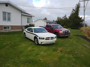 Dodge charger 2009 police pack 86000 km seulement !