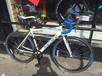 White Carrera Men's Virtuoso 2015 Road Bike 51cm