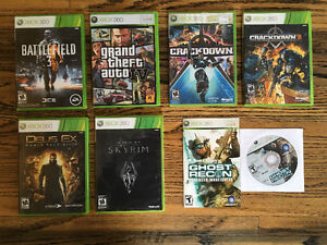 Lot of 14 Xbox 360 games