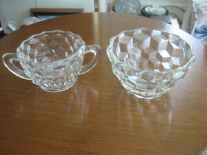 TWO DELIGHTFUL LITTLE VINTAGE SUGAR BOWLS