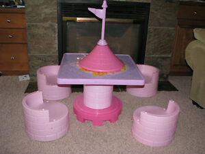 Rapunzel tower/table