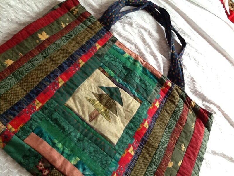 Unique handmade Xmas bag