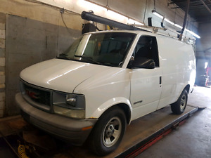 2001 GMC Safari Cargo Van