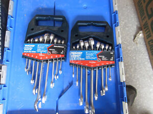 Mastercraft Combination Wrench Set (Metric and SAE)