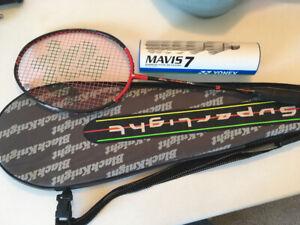 Black Knight Super Light (SL) Ghost PC Badminton Racquet
