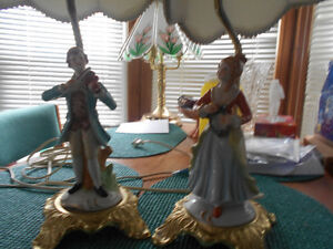 ANTIQUE LAMPS FOR SALE.