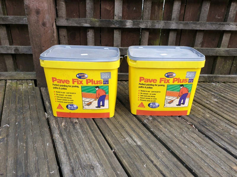 Pave Fix Plus Magic Sand (Self Setting Patio Grout/ement) | in Tullibody,  Clackmannanshire | Gumtree