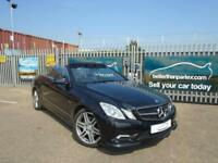2011 (11) MERCEDES-BENZ E200 1.8 CGI BLUE EFFICIENCY AUTOMATIC PETROL SPORT