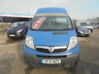 2012 Vauxhall Vivaro 2.0CDTi MINI BUS