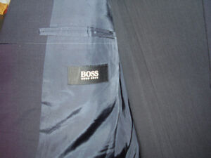 Hugo Boss Suit Tizian Lucca Made In Greece Mens