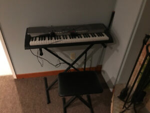 Casio Electric Keyboard with Microphone