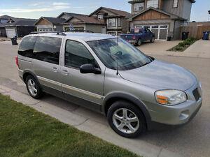 2005 Pontiac Montana Grey Minivan, Van