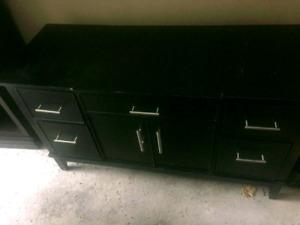 The bay vanity desk dresser solid wood