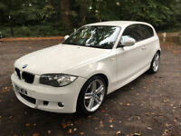 FROM £155.12 PER MONTH 2011 BMW 118 2.0TD AUTOMATIC M SPORT 3 DOOR DIESEL