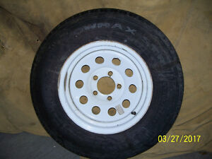 RV Tire and Rim, Never used.