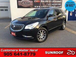 2015 Buick Enclave Leather  NAV ROOF LEATH HS P/GATE BS CAM HID