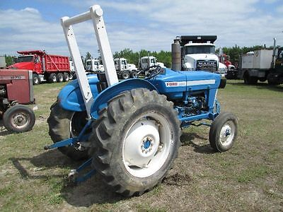 Ford Tractor 2000 3000 4000 5000 Operator Op Owner Manual Parts List Assembly