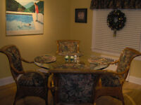 Attention Rattan Lovers - Table and 4 Chairs +