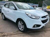 Hyundai ix35 2.0CRDi 16v ( 4WD ) Premium WHITE FULL HISTORY CHEAP FAMILY CAR