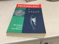 Psychology for A Level Mike Cardwell, Liz Clark, Claire Meldrum second hand book