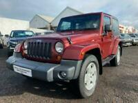 2008 Jeep Wrangler 2.8 CRD Sahara Soft top 4x4 2dr Convertible Diesel Automatic