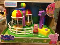 Brand new Peppa Pig theme park balloon ride