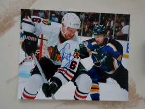 Phil Housley Autographed 8x10 Photo For Sale