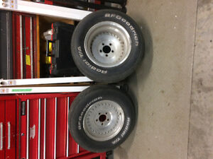 Center line rims and Tires