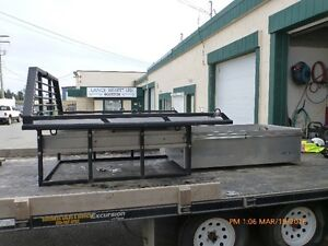 Truck deck and work box