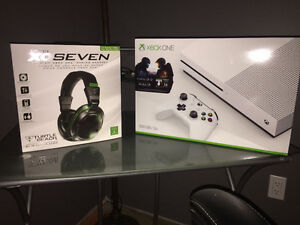 Xbox One S - 5 Games - Turtle Beach XO Seven Headset