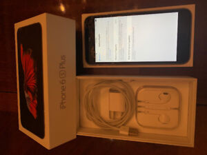 iPhone 6S Plus 128 GB Space Grey W/Box, 2 cases, all accessories