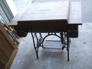Antique foot operated Raymond Sewing Machine Guelph Ontario