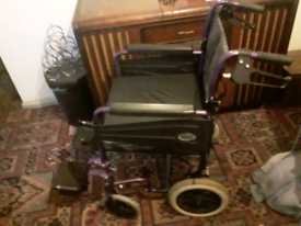 Wheelchair with cushion