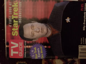 TV Guide Star Trek: First Look at Insurrection