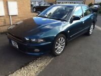 2001 MITSUBISHI GALANT 2.5 V6-24v 12MONTHS MOT NEW CLUTCH KIT FITTED SERVICE HISTORY GREAT DRIVE