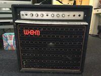WEM dominator mk 3 guitar amp