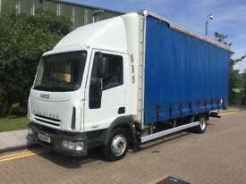 2004 IVECO EUROCARGO ML75E17S DAY 7.5t Curtain Side Lorry call our Heathrow sup