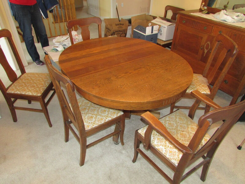 Oak Dining Table and Chairs dining tables and sets  : 20 from www.kijiji.ca size 800 x 600 jpeg 98kB