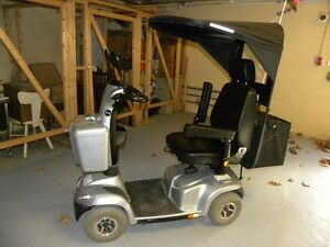 Invacare Pegasus 4 Wheel Scooter, Grey with 8A Charger