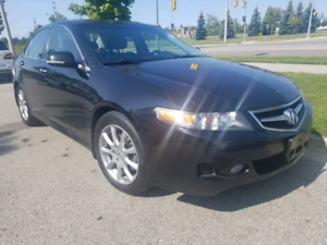 2008 ACURA TSX AUTOMATIC LEATHER  SAFETY $4999