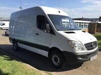 2013 13 MERCEDES-BENZ SPRINTER 2.1 313CDI MWB HIGH ROOF 130BHP. 1 OWNER. ONLY 94