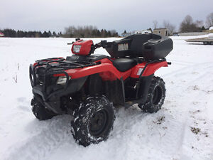 2015 HONDA 500 FOREMAN WITH EPS (FINANCING AVAILABLE)