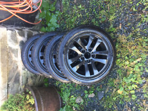 Bmw winter rims and tires 205/55/16, 180 obo